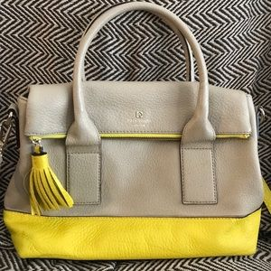Beige & Yellow Kate Spade ♠️ bag